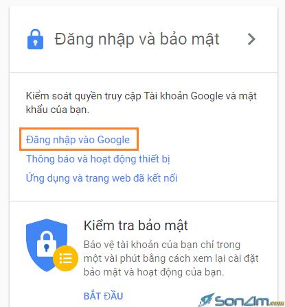 Cách thay đổi mật khẩu Google - 2