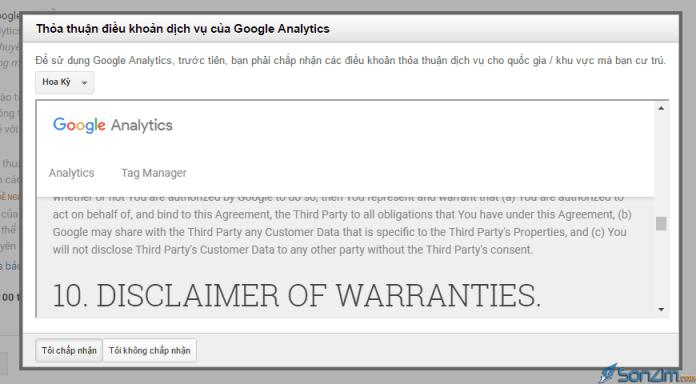 Hướng dẫn sử dụng Google Analytics để thống kê truy cập cho website/blog - 3