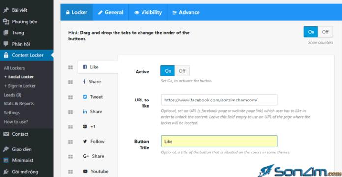 Khóa nội dung WordPress bằng plugin Content Locker - 2