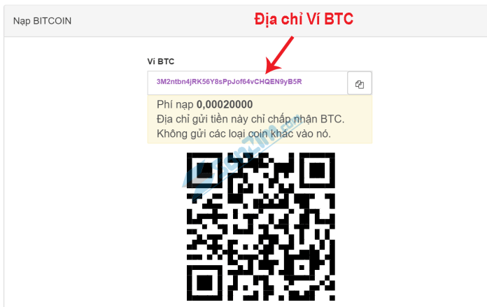 Chuyển bitcoin vào sàn remitano - 3