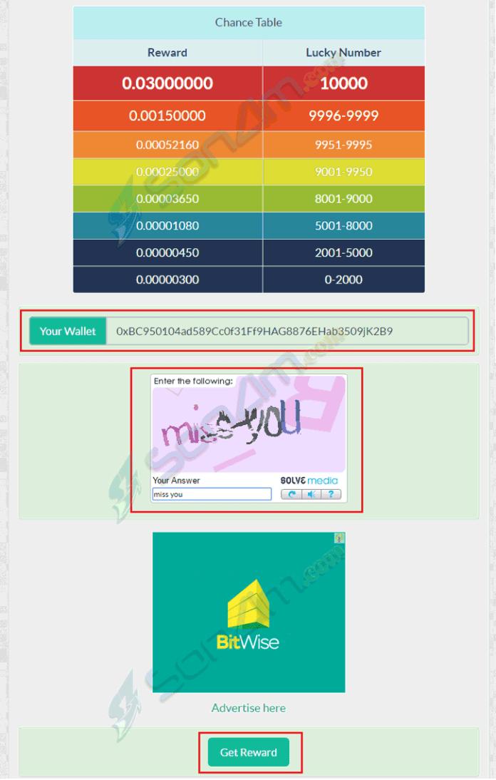 Nhận Ethereum miễn phí trên Ethereum Faucet - 1