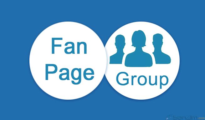 Hướng dẫn liên kết Fanpage với group Facebook - 1