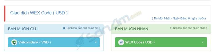 Mua WEX Code - Cách nạp tiền vào WEX - 2