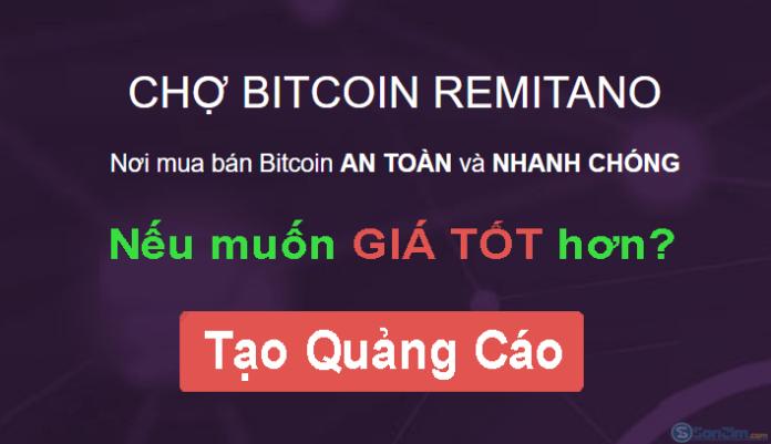 Cách tạo quảng cáo trên Remitano để mua bán Bitcoin giá tốt hơn