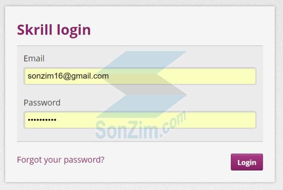 Cách đăng ký tài khoản Skrill - Bước 7
