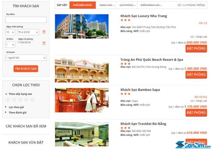 Bookin - website đặt phòng khách sạn online tốt nhất