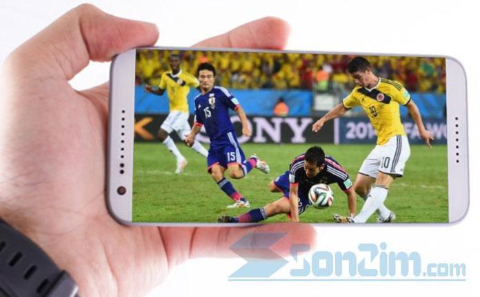 Cách xem bóng đá trực tiếp trên điện thoại với World Cup 2018