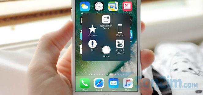 Cách bật và tắt nút Home ảo trên iPhone