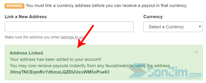 Cách liên kết địa chỉ ví vớiFaucetHub - Ảnh 2