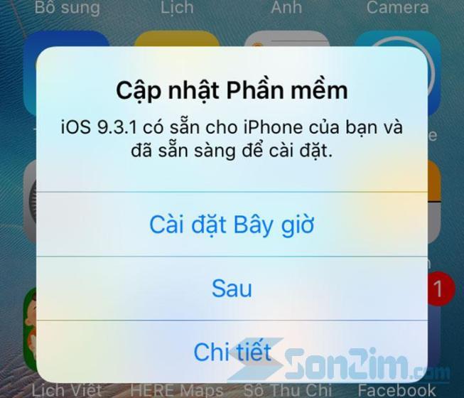 Cách tắt thông báo cập nhật iOS và chặn cập nhật trên iPhone