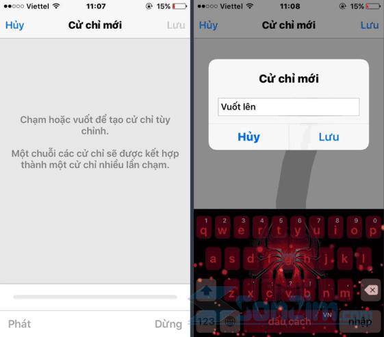Tạo cử chỉ nút Home ảo trên iPhone - 2