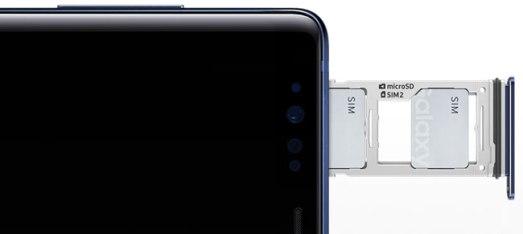Đánh giá Samsung Galaxy Note 9 - Dung lượng lưu trữ khủng