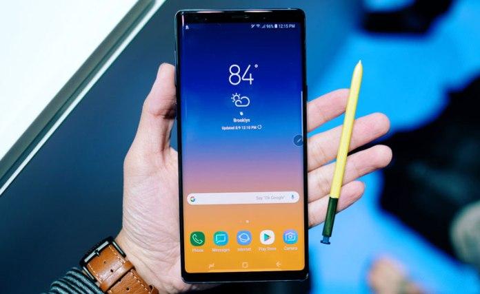 Đánh giá Samsung Galaxy Note 9