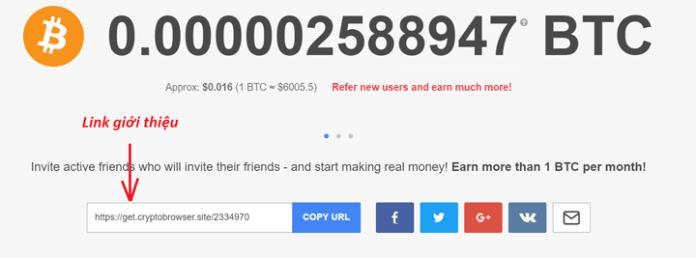 Cách kiếm bitcoin trên trình duyệtCryptoTab - 8