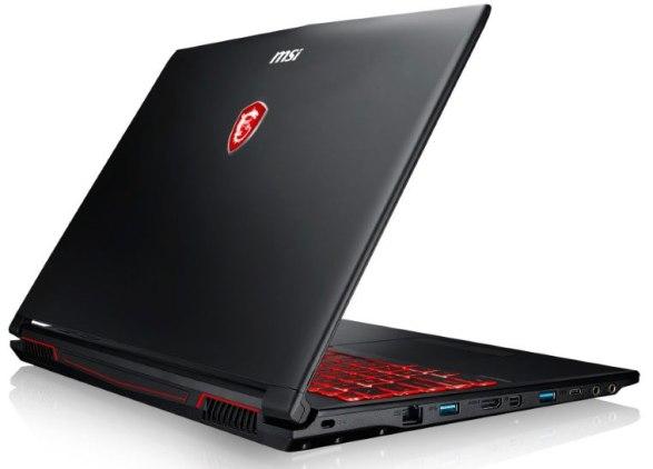 Top 5 laptop Gaming tốt nhất - MSI GV62 7RD 1882XVN