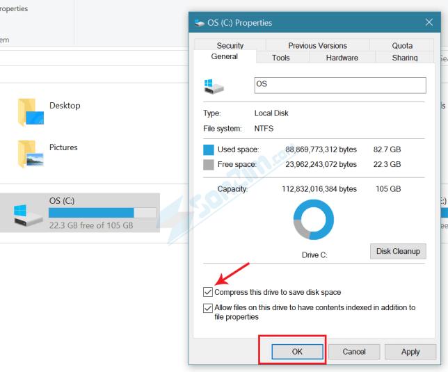 Nén tập tin NTFS - 2