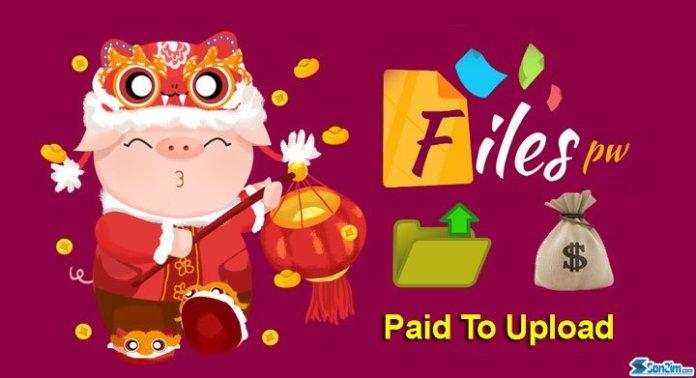 Kiếm tiền online bằng cách upload file trên FilesPW