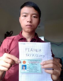 Ảnh chân dung xác thực danh tính trên Fiahub