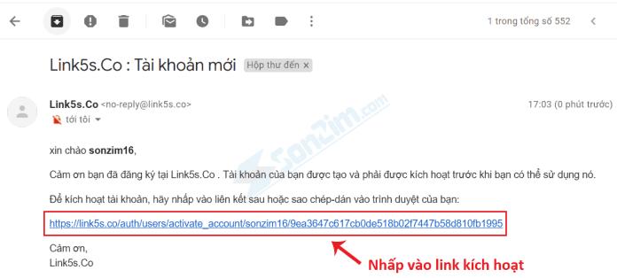 Cách đăng ký tài khoản Link5s - 5