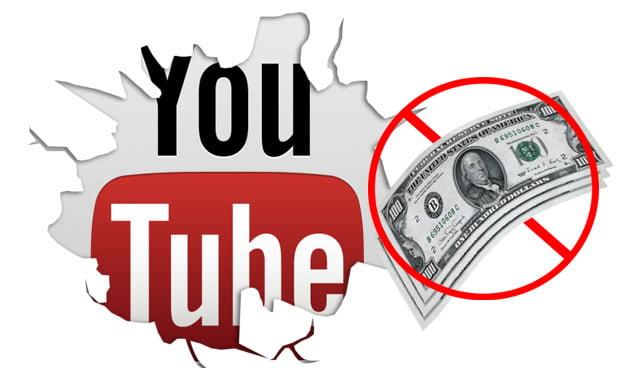 Những nội dung không được bật kiếm tiền trên Youtube