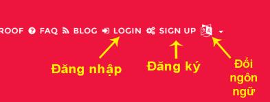 Cách đăng ký tài khoản MegaURLL - Bước 1
