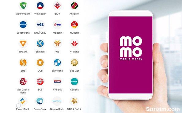 Các Ngân hàng liên kết với MoMo mới nhất