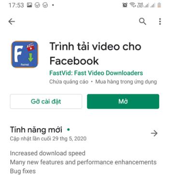 Trình tải video cho Facebook - Tải video facebook Full HD