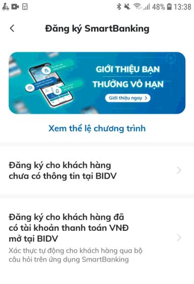 Cách mở tài khoản ngân hàng BIDV online - 2