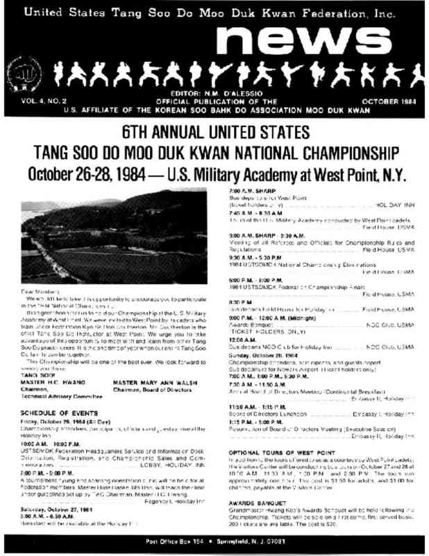 thumbnail of 1984 10 Usa Moo Duk Kwan Federation Newsletter