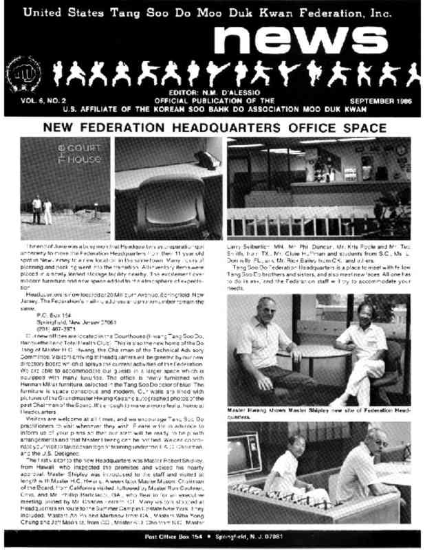 thumbnail of 1986 09 Usa Moo Duk Kwan Federation Newsletter