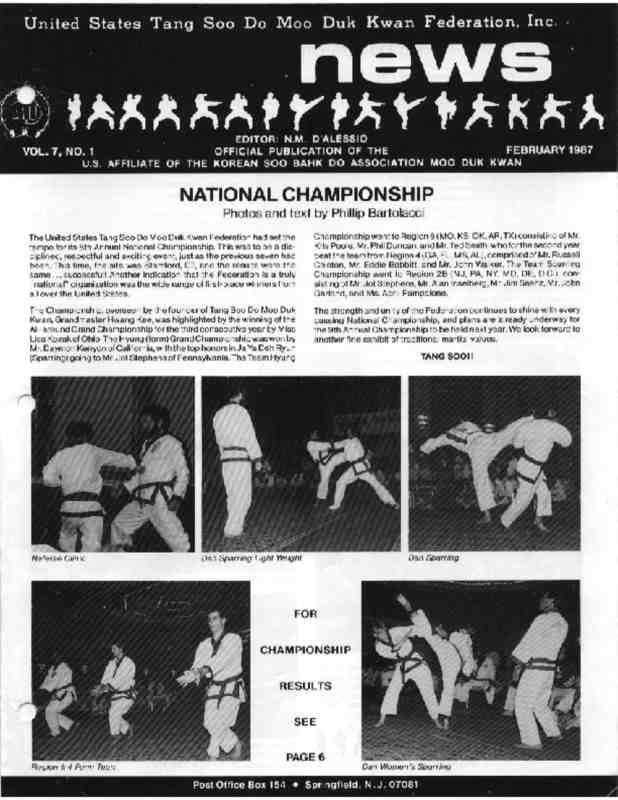 thumbnail of 1987 02 Usa Moo Duk Kwan Federation Newsletter