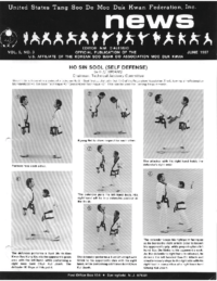 1987 06 Usa Moo Duk Kwan Federation Newsletter