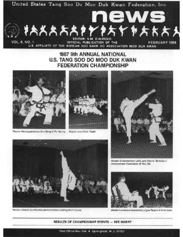 thumbnail of 1988 02 Usa Moo Duk Kwan Federation Newsletter