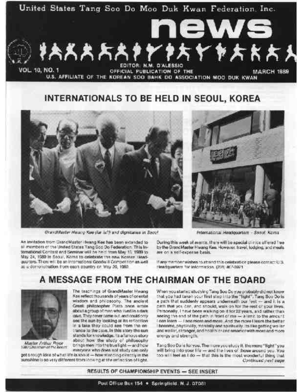 thumbnail of 1989 03 Usa Moo Duk Kwan Federation Newsletter