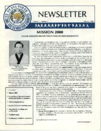 1990 02 Usa Moo Duk Kwan Federation Newsletter