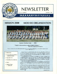 1990 09 Usa Moo Duk Kwan Federation Newsletter