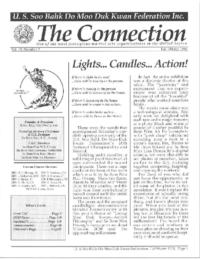 1998 10 Usa Moo Duk Kwan Federation Newsletter