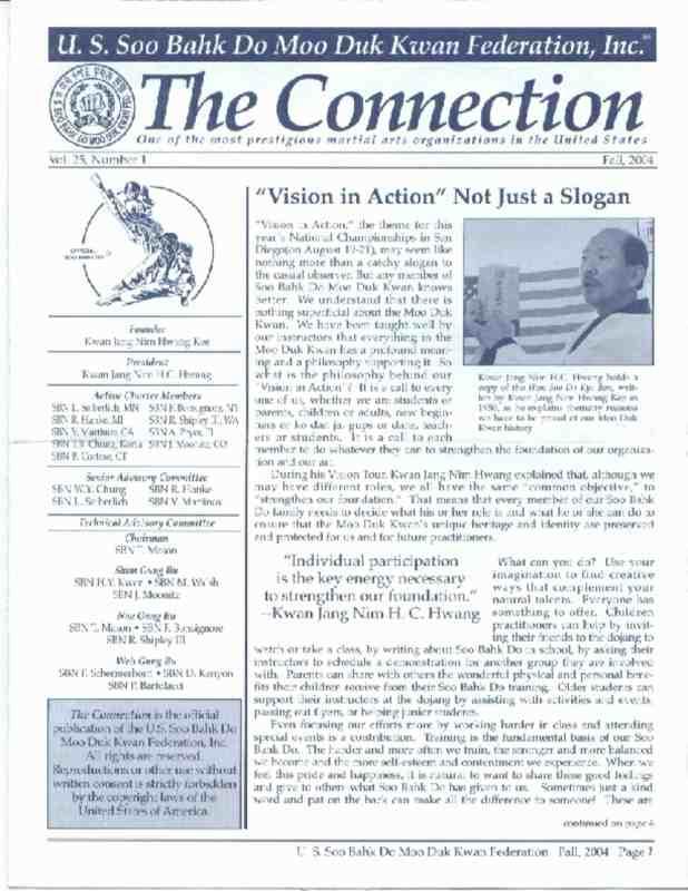 thumbnail of 2004 09 Usa Moo Duk Kwan Federation Newsletter