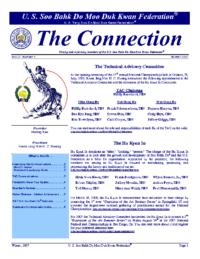 2007 04 01 Usa Moo Duk Kwan Federation Newsletter