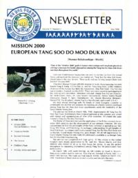 1990 05 Usa Moo Duk Kwan Federation Newsletter
