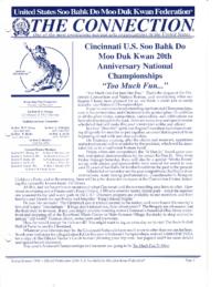 1998 Spring Summer Usa Moo Duk Kwan Federation Newsletter