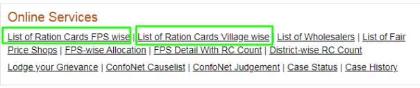 meghalaya ration card