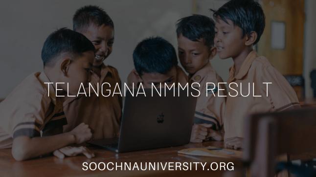 Telanagana NMMS Result