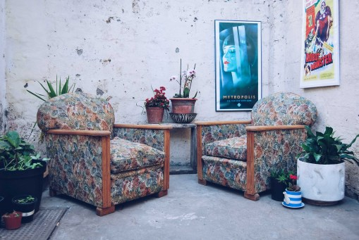 Cuban inspired armchairs