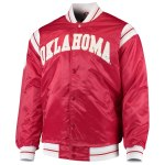 OU Mens Red Satin Jacket