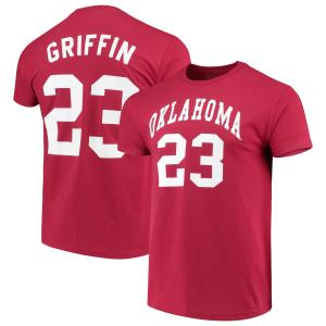 Blake Griffin Oklahoma Sooners Original Retro Brand Alumni Basketball Jersey T-Shirt - Crimson