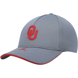 Oklahoma Sooners Nike Sideline Shield Legacy 91 Performance Adjustable Hat - Gray