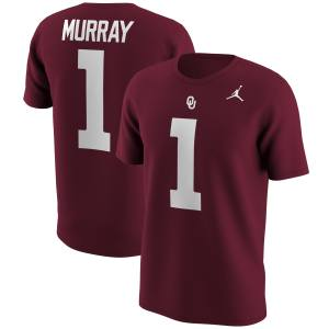 Kyler Murray Oklahoma Sooners Jordan Brand Alumni Name & Number T-Shirt - Crimson