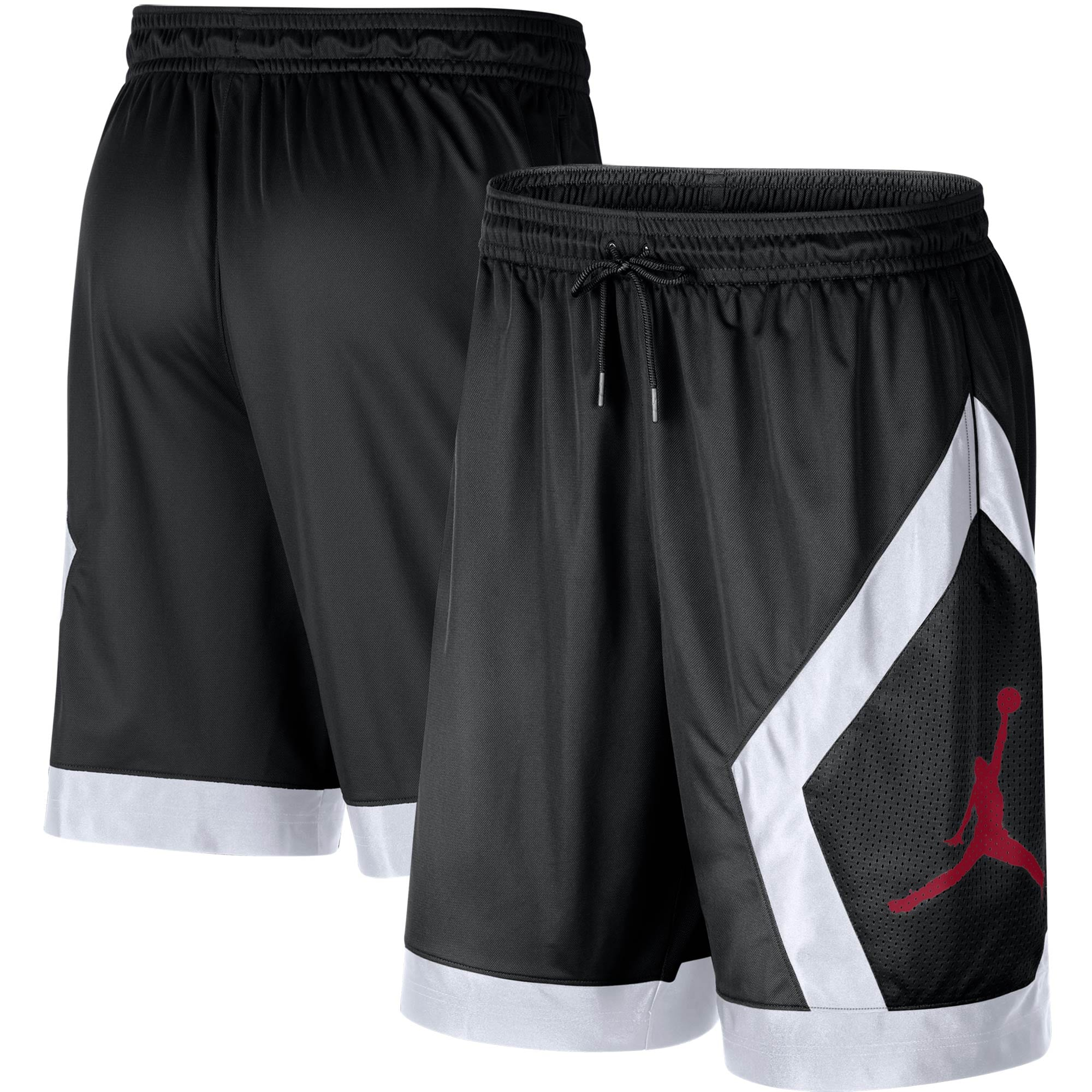 Oklahoma Sooners Jordan Brand Knit Performance Shorts - Black
