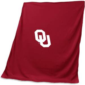 Oklahoma Sooners 54'' x 84'' Team Sweatshirt Blanket